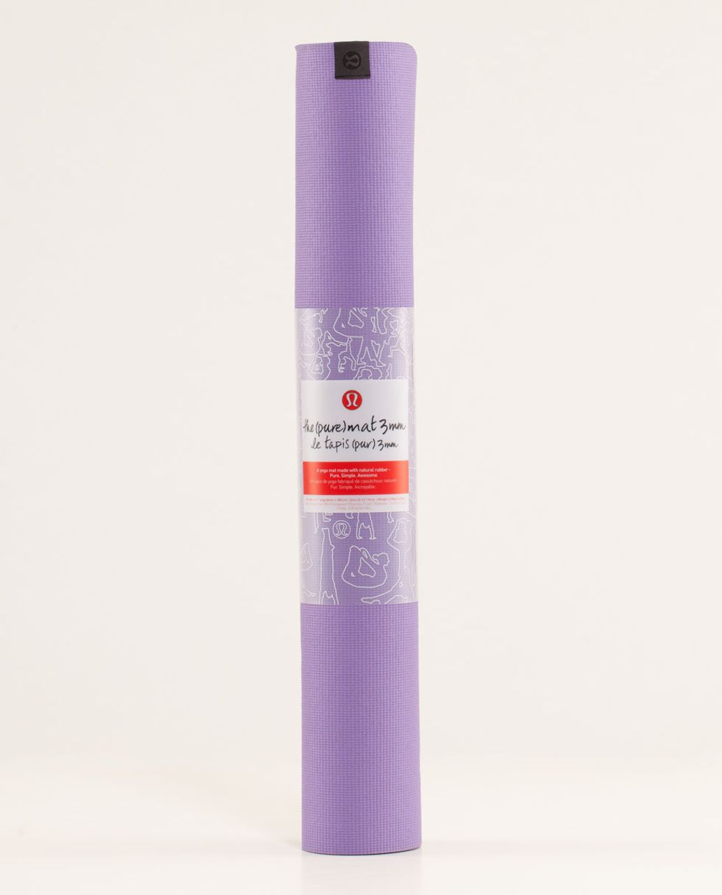 Lululemon The Pure Mat 3mm - Groovy Grape