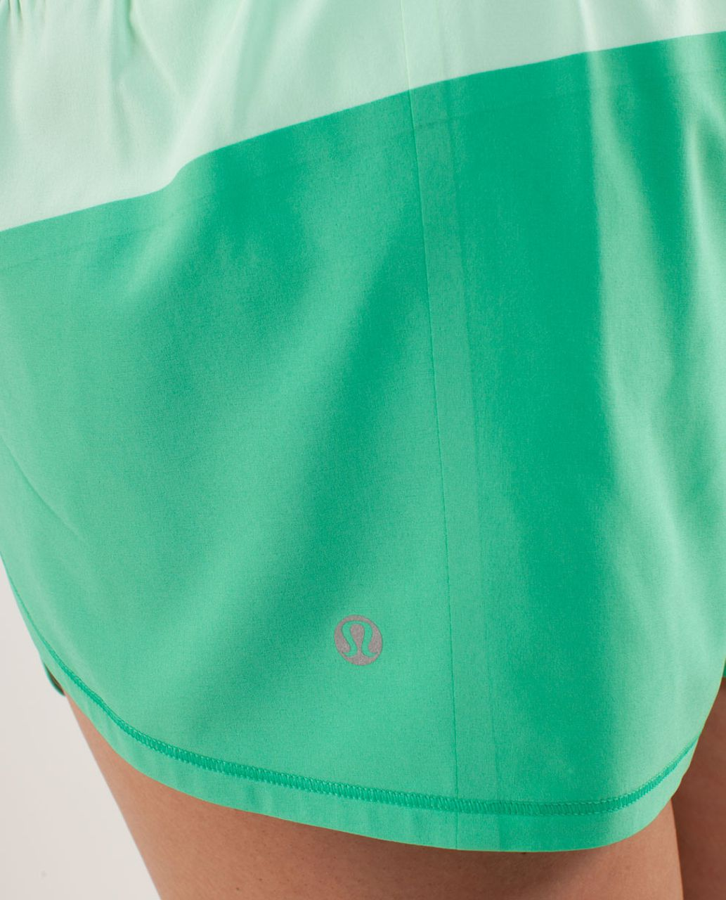 Lululemon Run:  Breeze By Short - Fresh Teal / Very Green