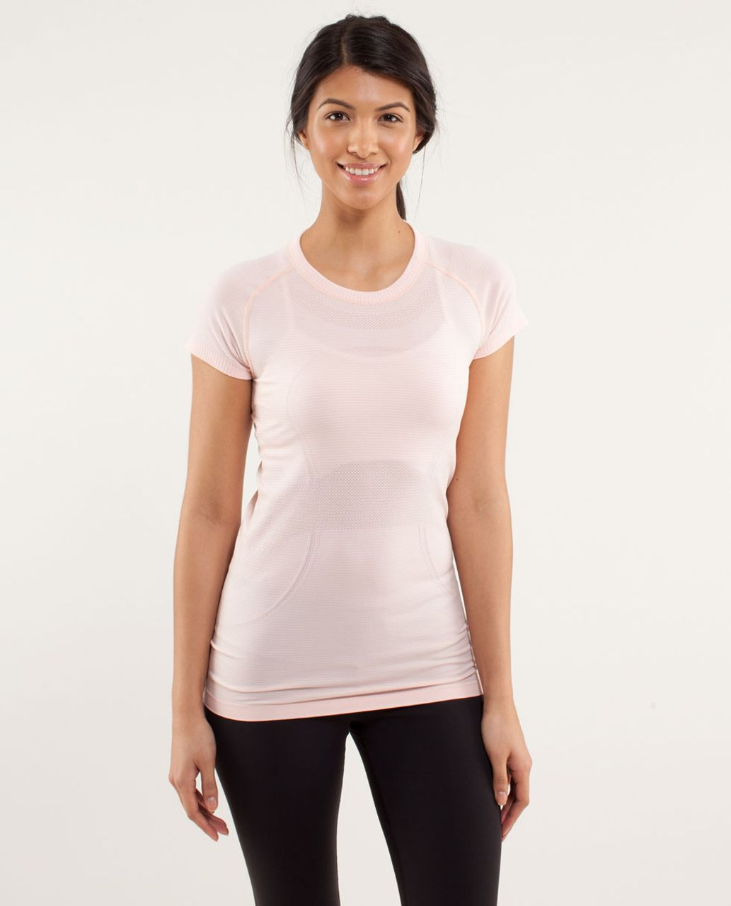 Lululemon Run:  Swiftly Tech Short Sleeve - Parfait Pink