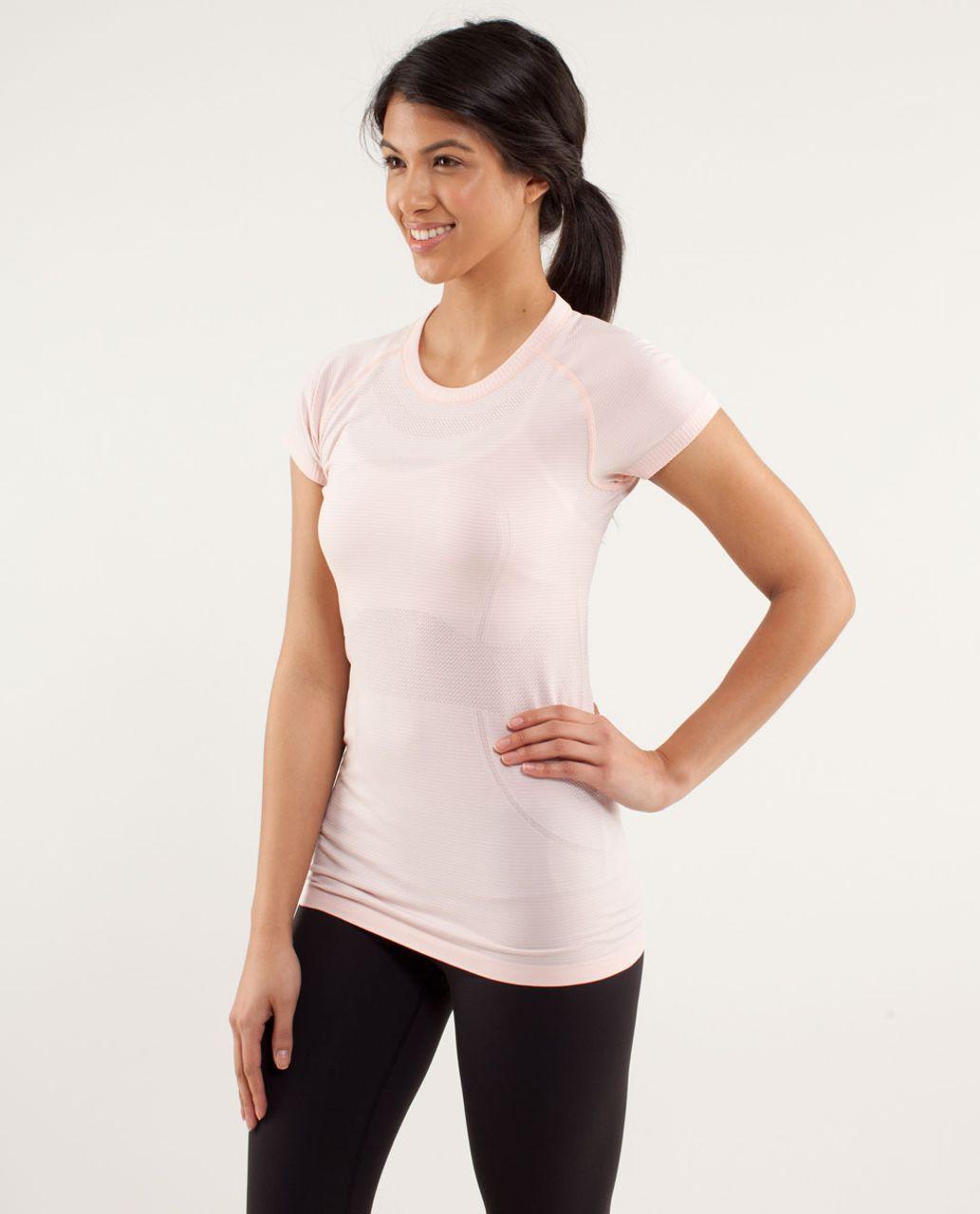Lululemon Run:  Swiftly Tech Short Sleeve - Parfait Pink