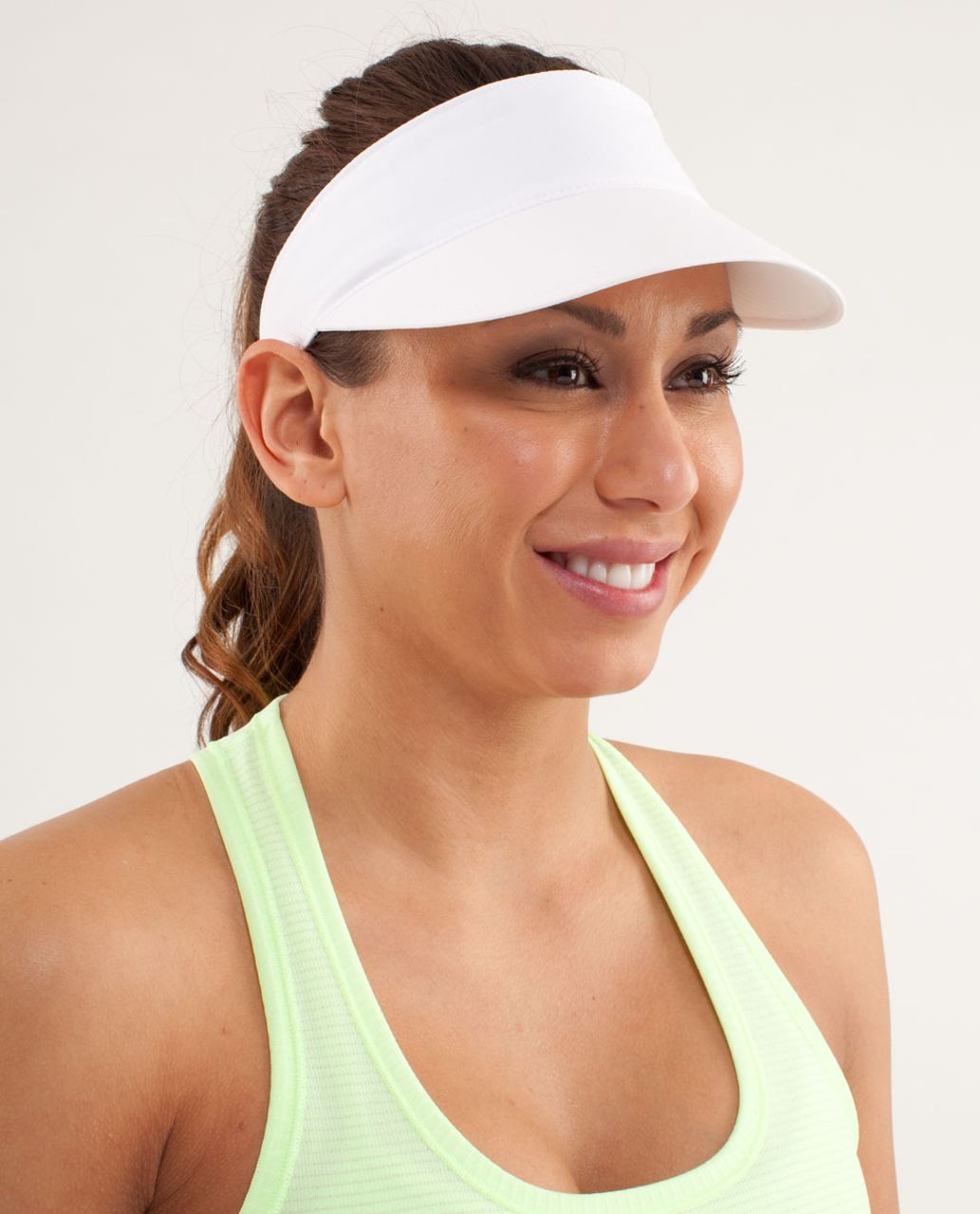 Lululemon Shady Lady Run Visor - White