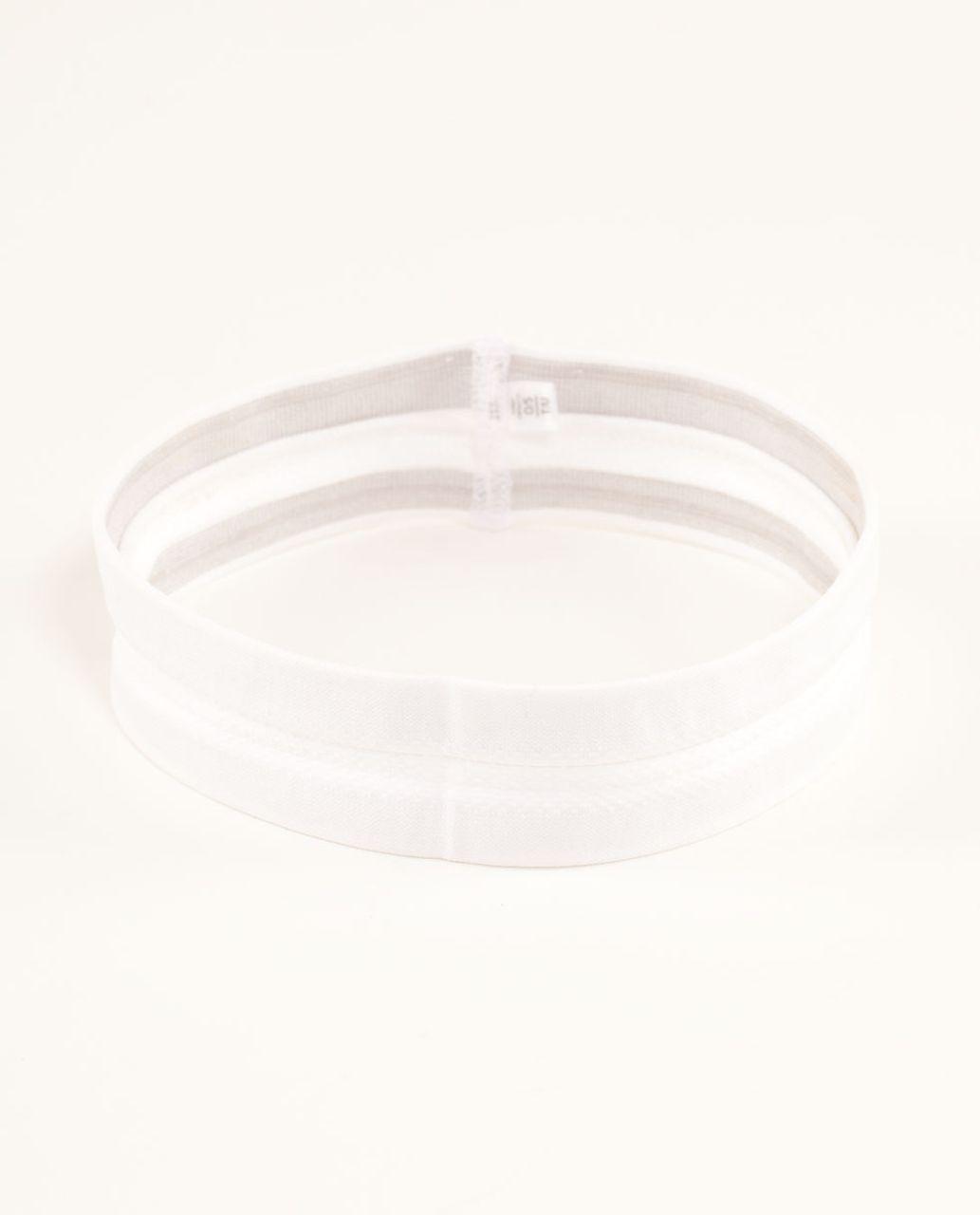 Lululemon Swiftly Headband - White