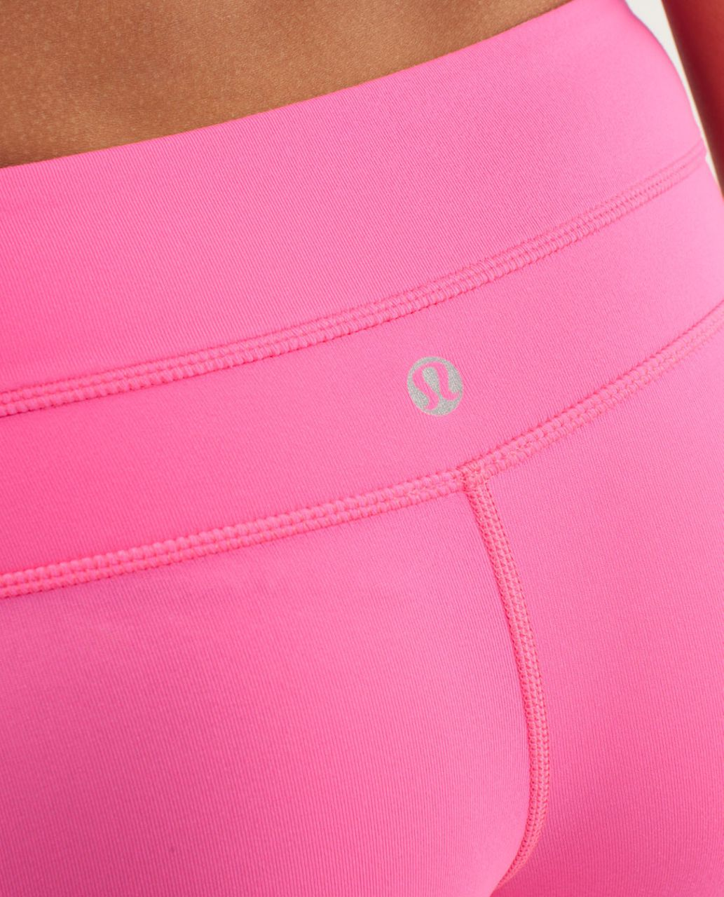 Lululemon Reverse Groove Short (Tall) - Parfait Pink / Pinkelicious