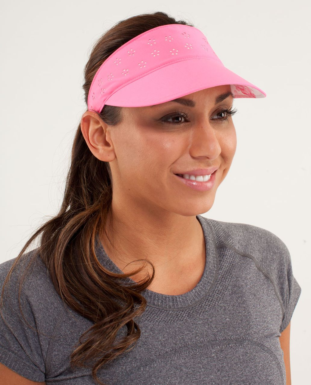 Lululemon Shady Lady Run Visor - Pinkelicious