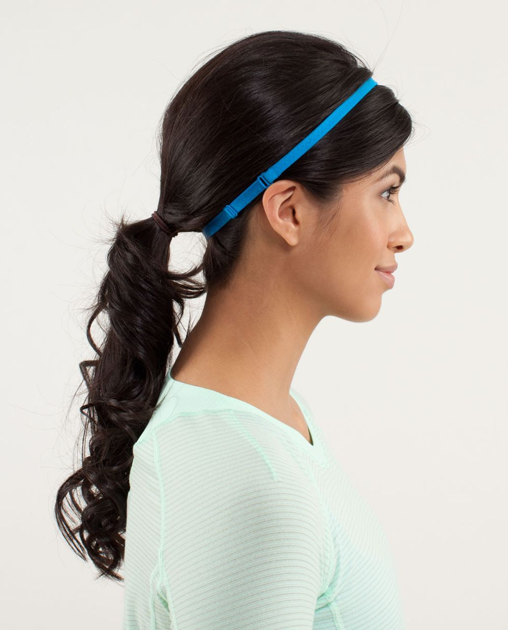 Lululemon Strappy Headband - Beach Blanket Blue