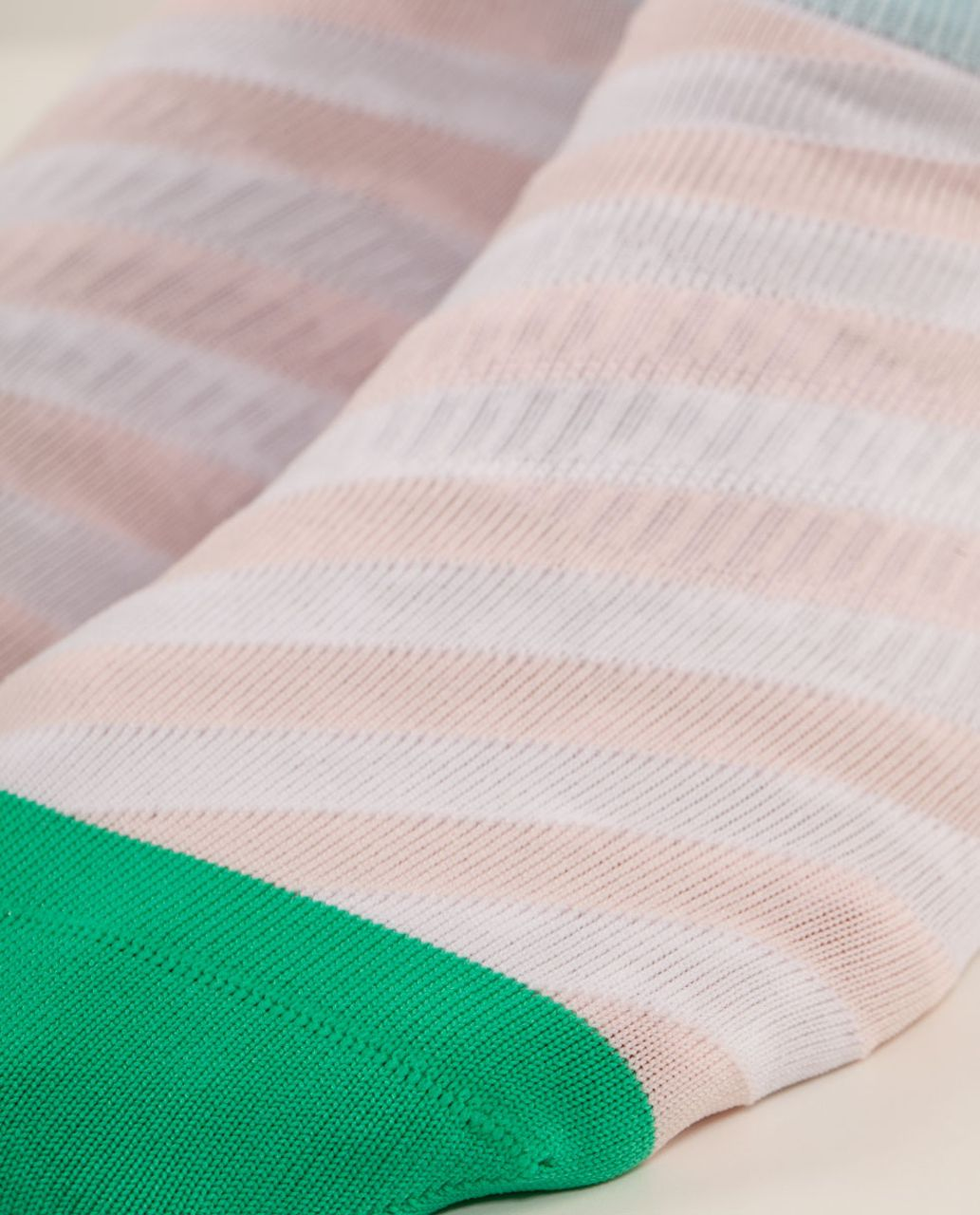 Lululemon Run For Ice Cream Sock - Parlour Stripe Parfait Pink