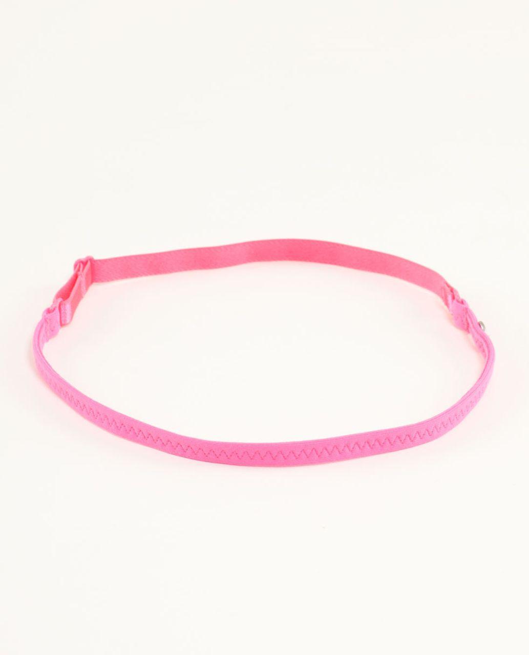 Lululemon Strappy Headband - Pinkelicious