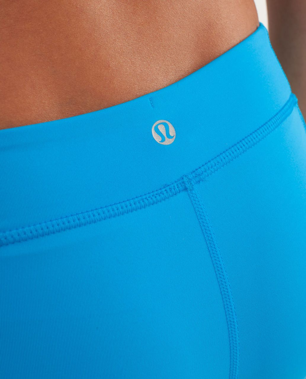 Lululemon Heat It Up Short - Beach Blanket Blue / Aquamarine