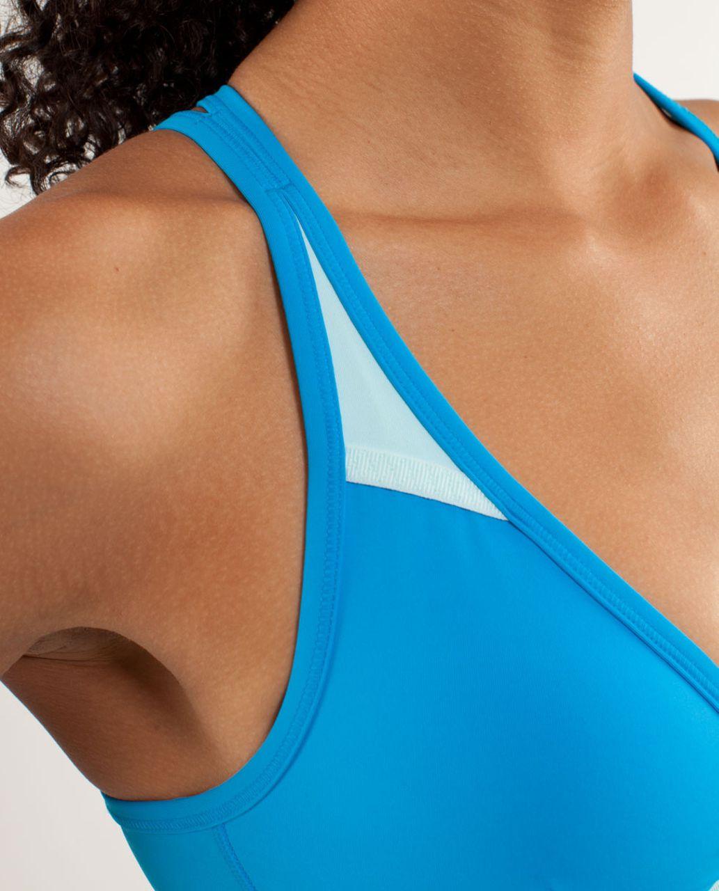 Lululemon Heat It Up Bra - Beach Blanket Blue / Aquamarine