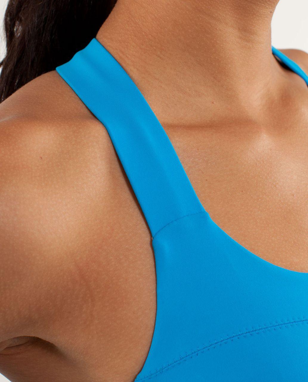 Lululemon Run:  Hook Me Up Bra - Beach Blanket Blue / Aquamarine