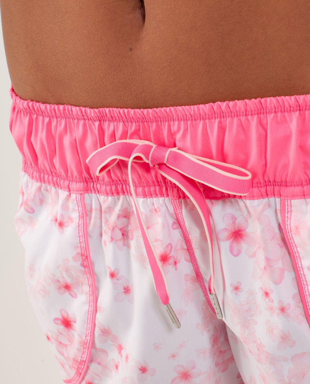 Lululemon Work It Out Short - Frangipani Parfait Pink / Pinkelicious