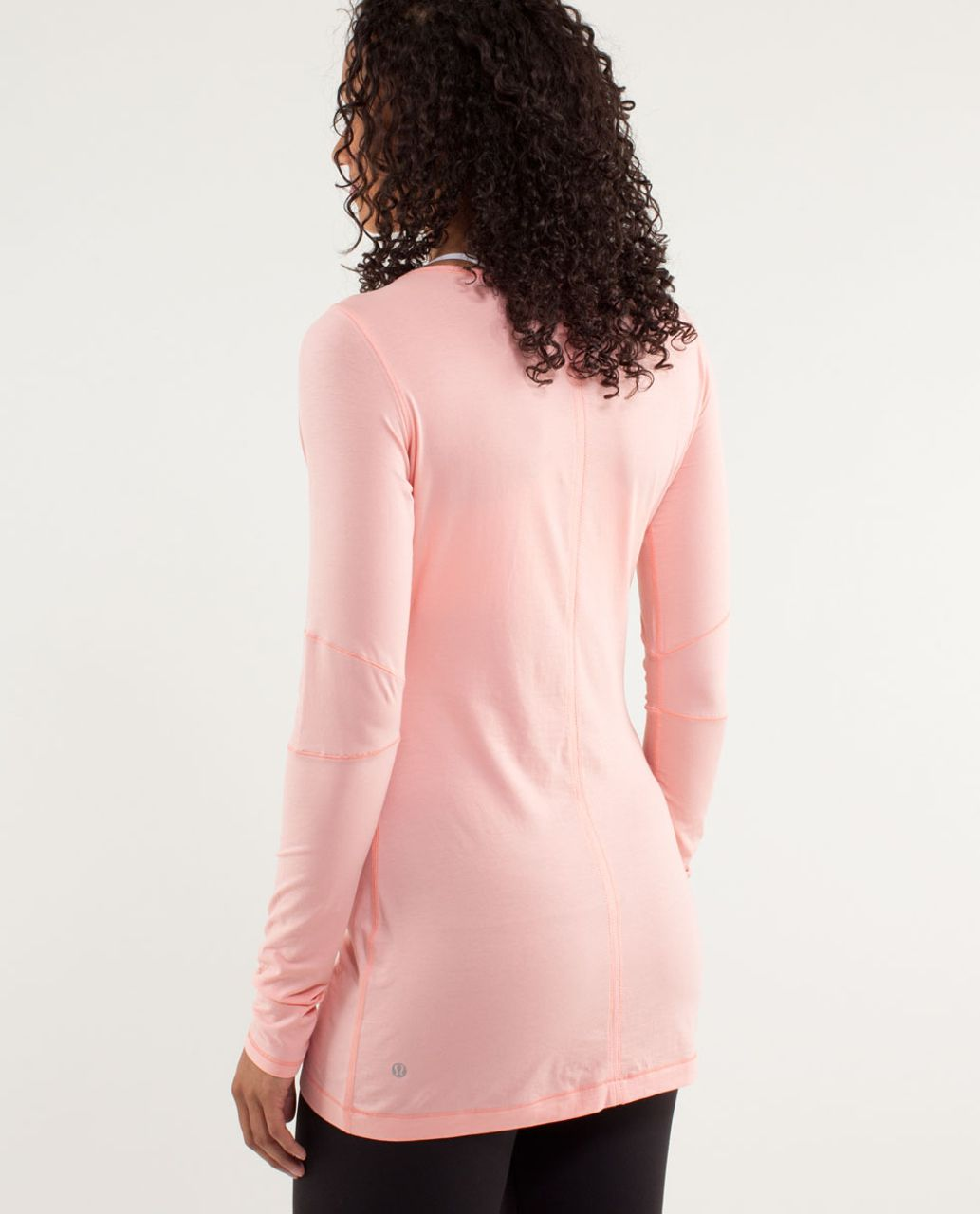 Lululemon Devotion Long Sleeve Tee - Bleached Coral