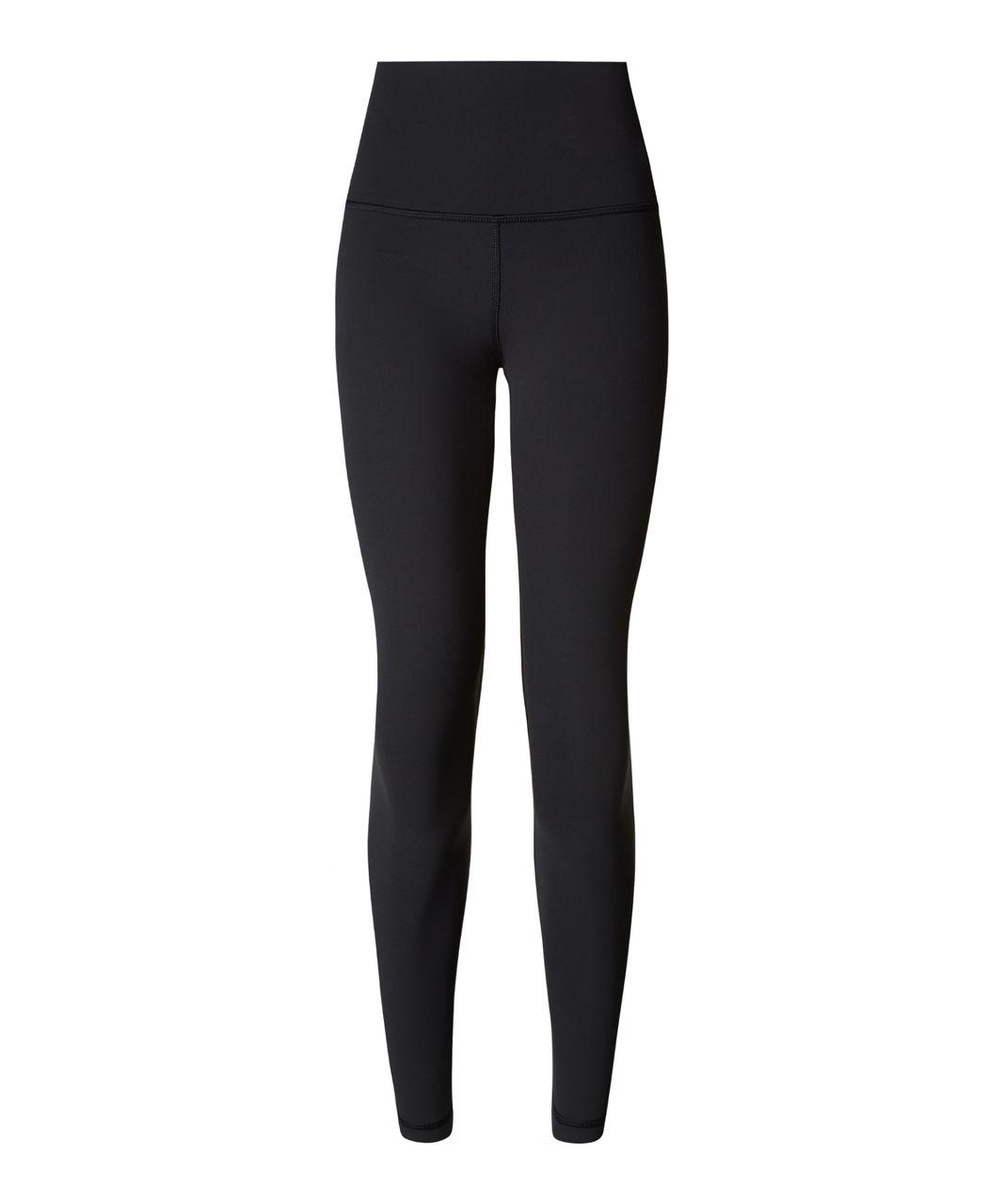 51090229bd341 Lululemon High Times Pant (Brushed) *Full-On Luxtreme - Black - lulu ...