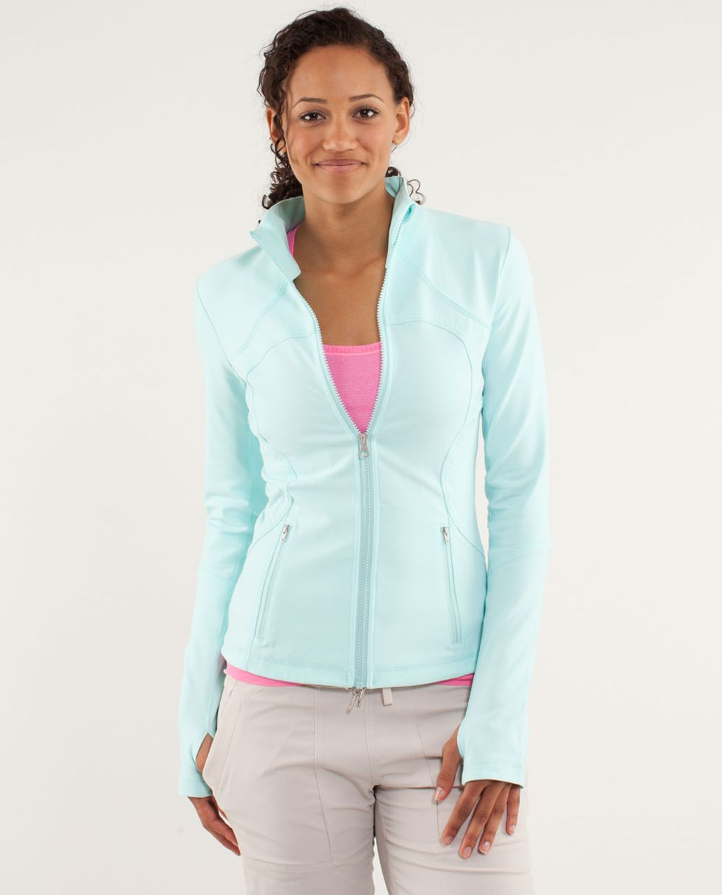 Lululemon Forme Jacket - Aquamarine