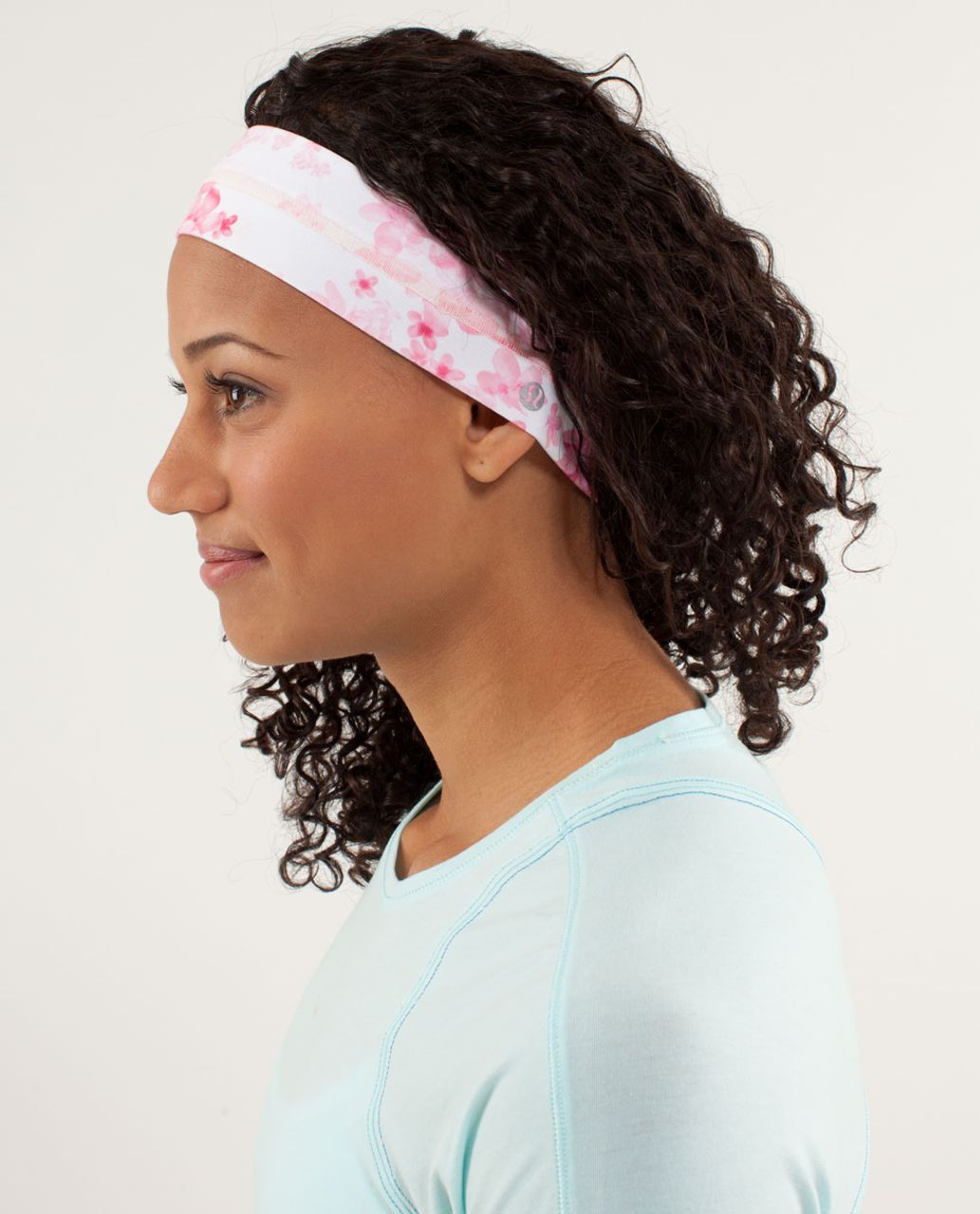 Lululemon Fly Away Tamer Headband - Frangipani Parfait Pink