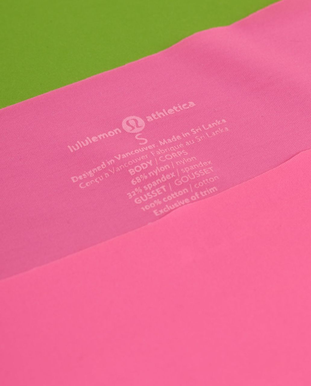 Lululemon Light As Air Hipster - Pinkelicious