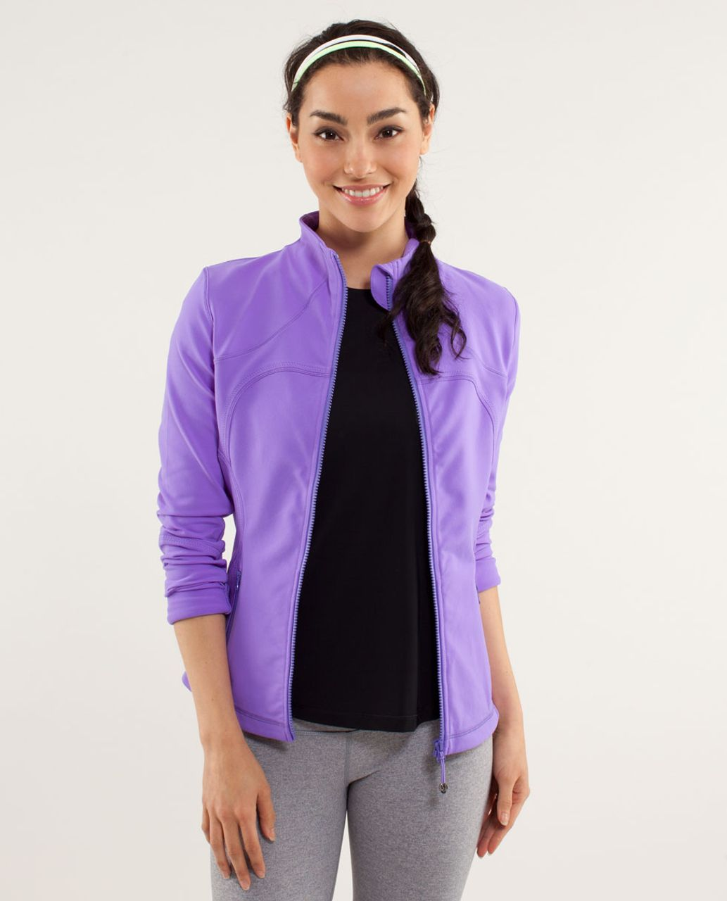 Lululemon Forme Jacket - Power Purple