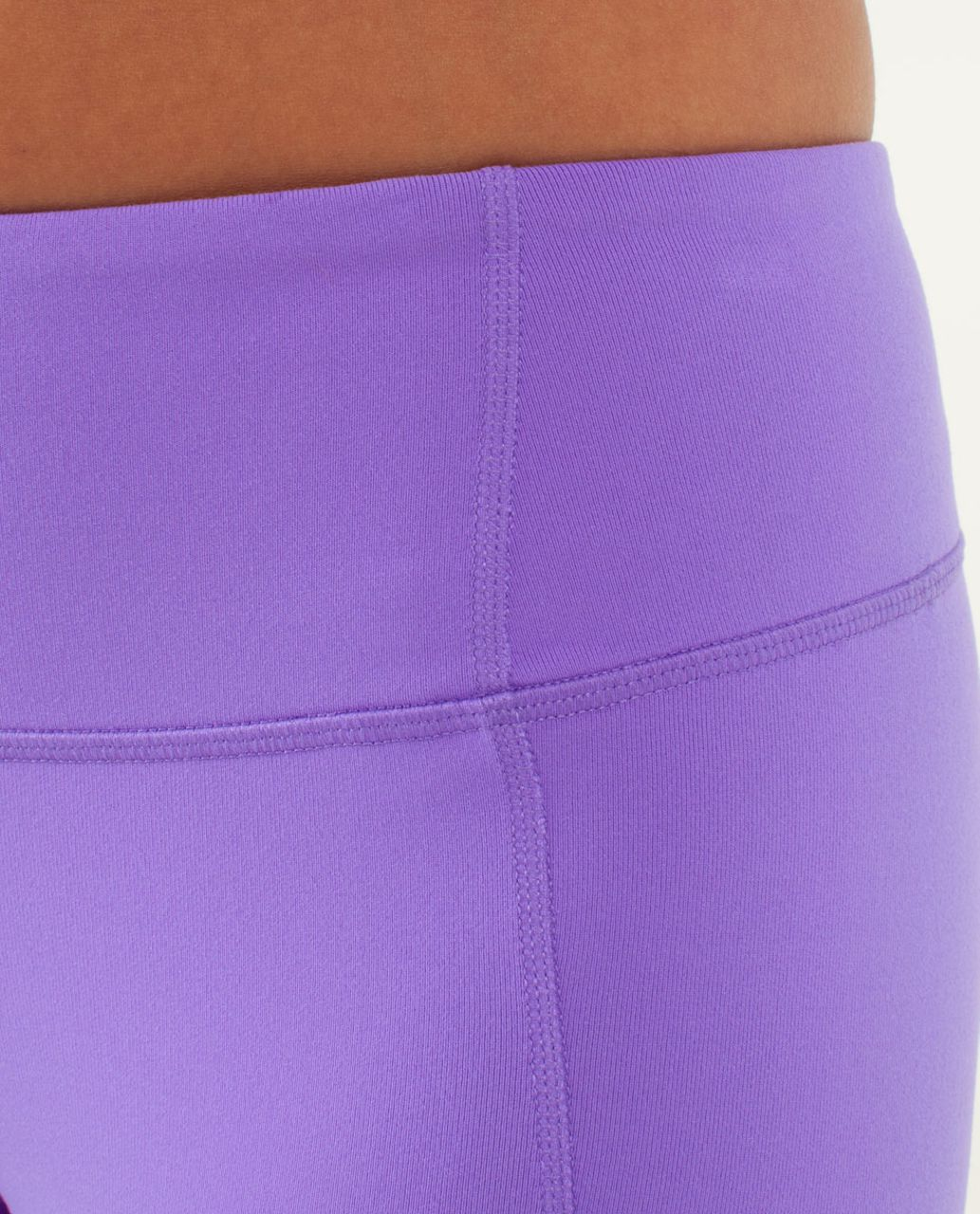 Lululemon Gather & Crow Crop - Power Purple / Twiggy Printed Power Purple