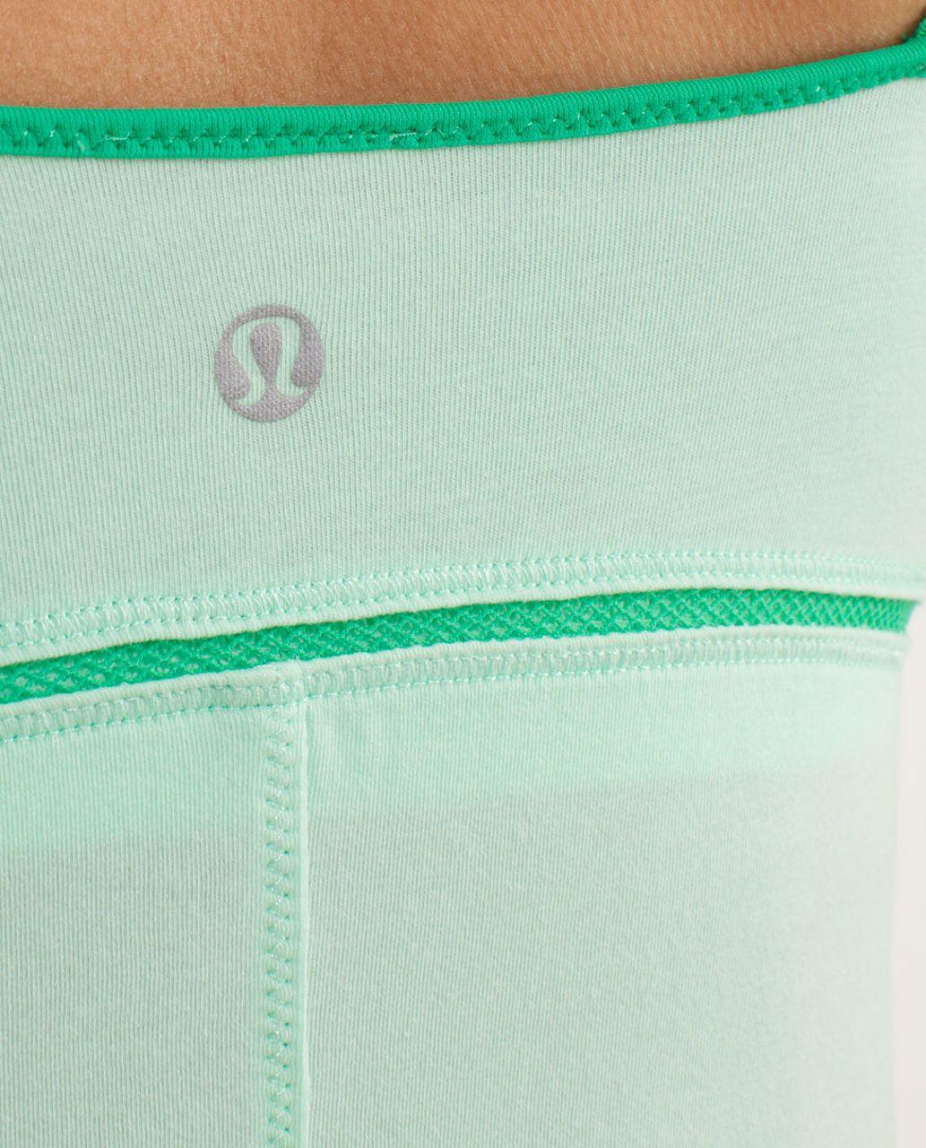 Lululemon Luminous Tank - Fresh Teal / Very Green