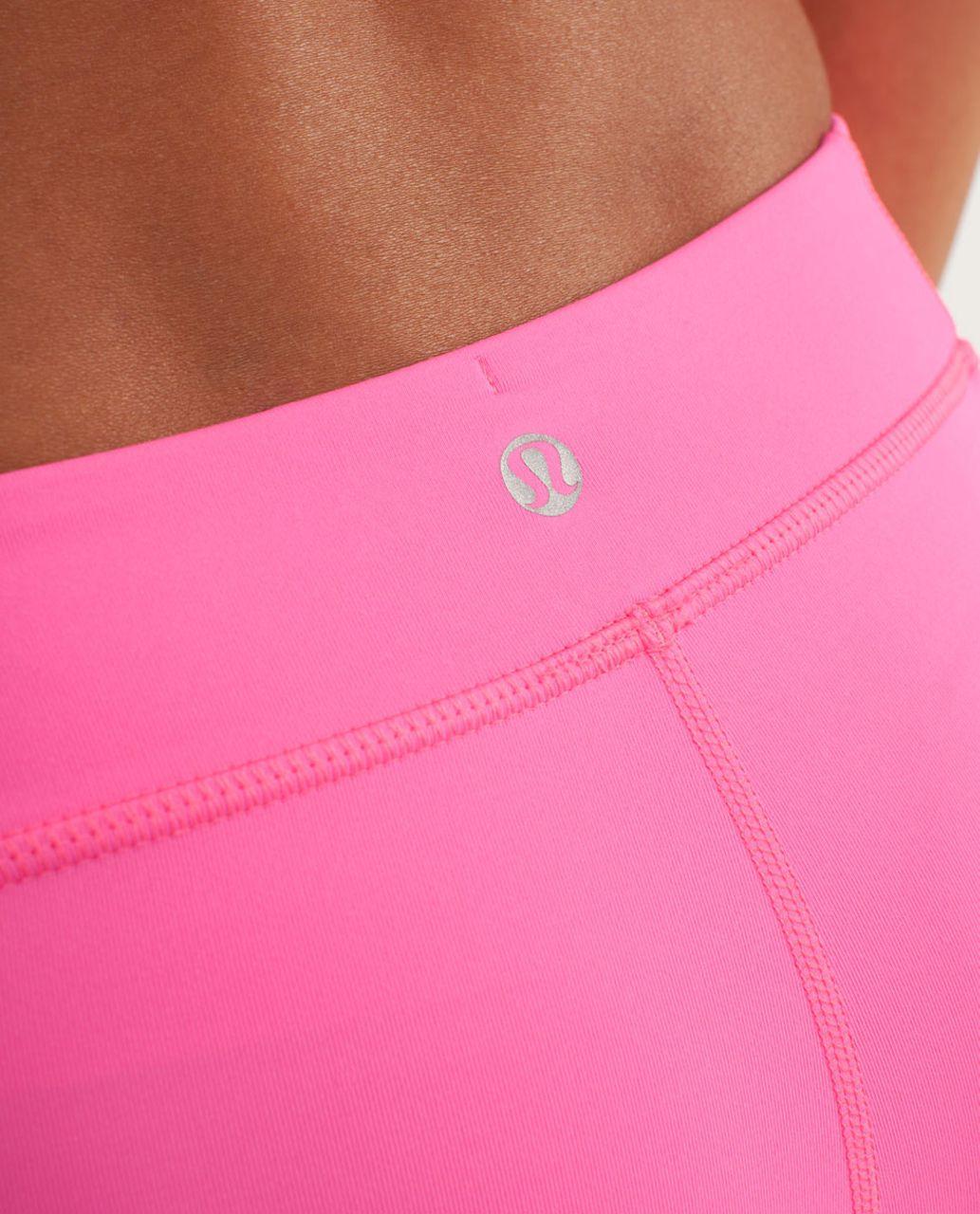 Lululemon Heat It Up Short - Pinkelicious / Parfait Pink
