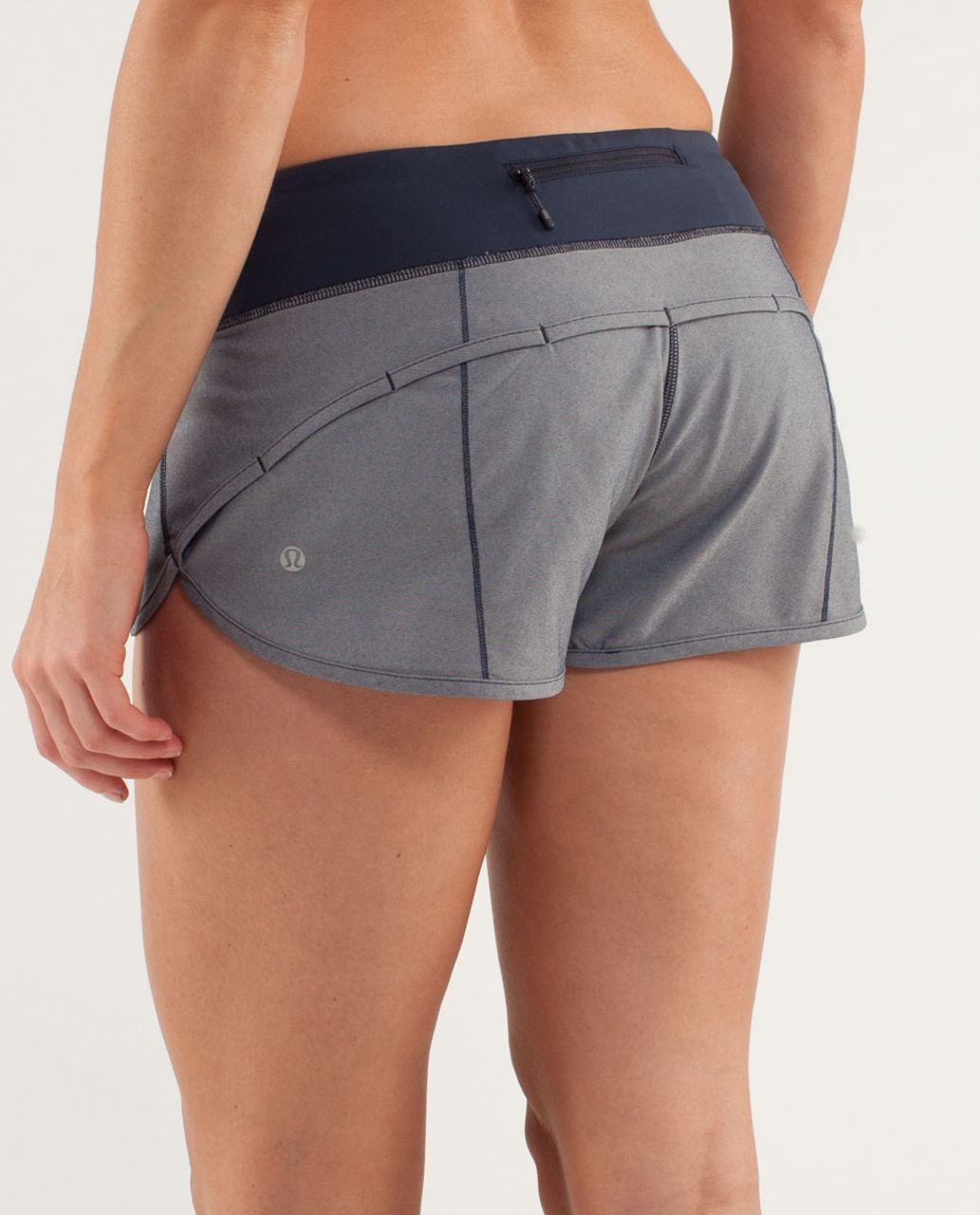 Lululemon Run:  Speed Short - Inkwell