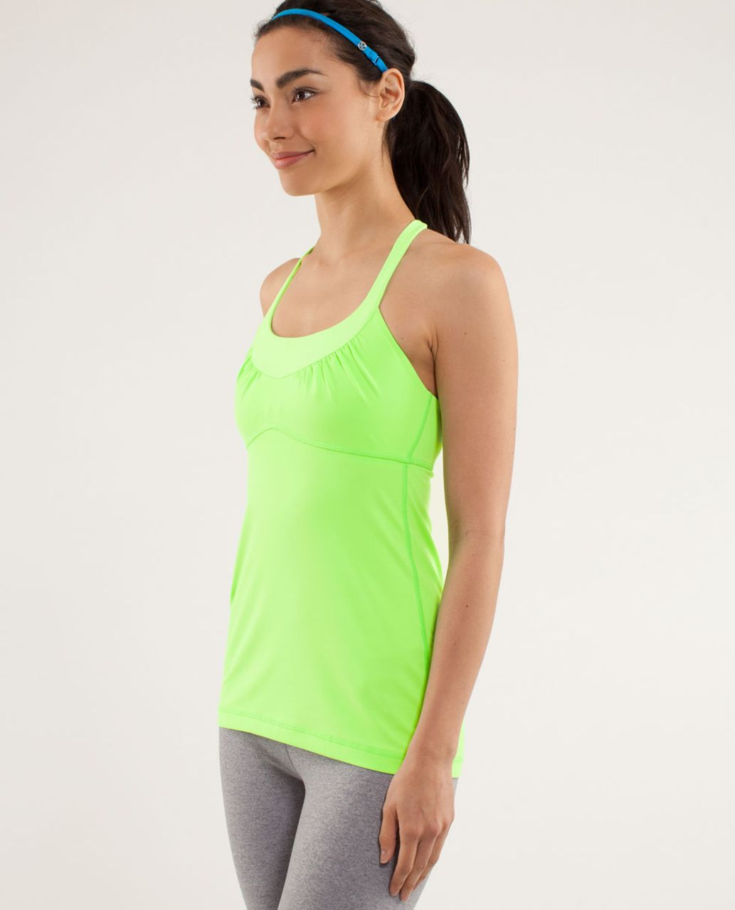 Lululemon Scoop Me Up Tank II - Zippy Green