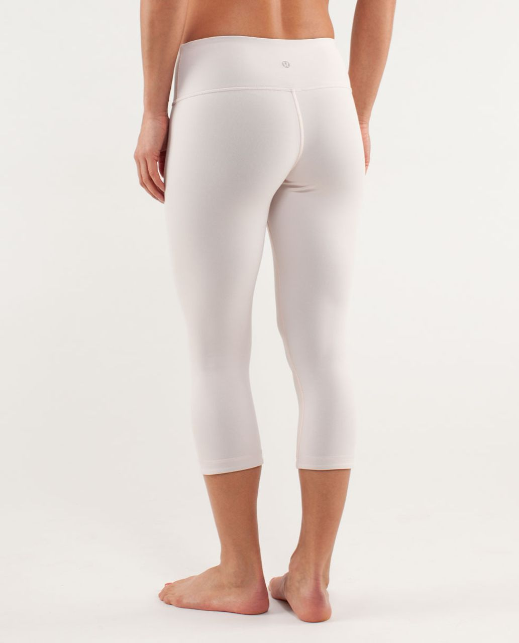 Lululemon Wunder Under Crop *Reversible - Black / Parfait Pink
