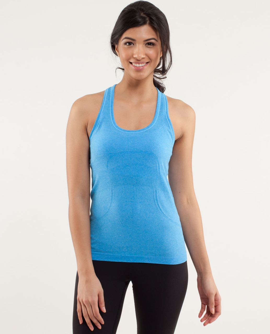 Lululemon Run:  Swiftly Tech Racerback *Shortcut - Beach Blanket Blue