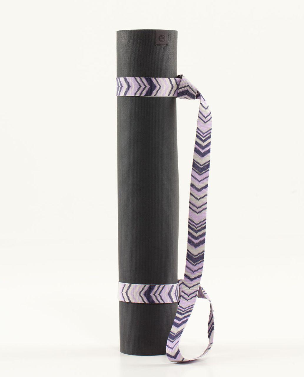 Lululemon Loop It Up Mat Strap - Groovy Grape