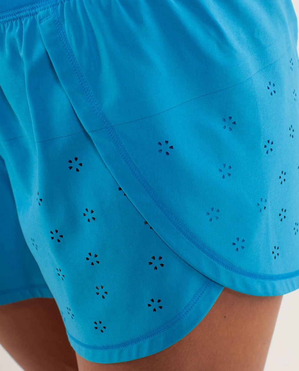 Lululemon Run:  Breeze By Short *Laser Cut - Beach Blanket Blue