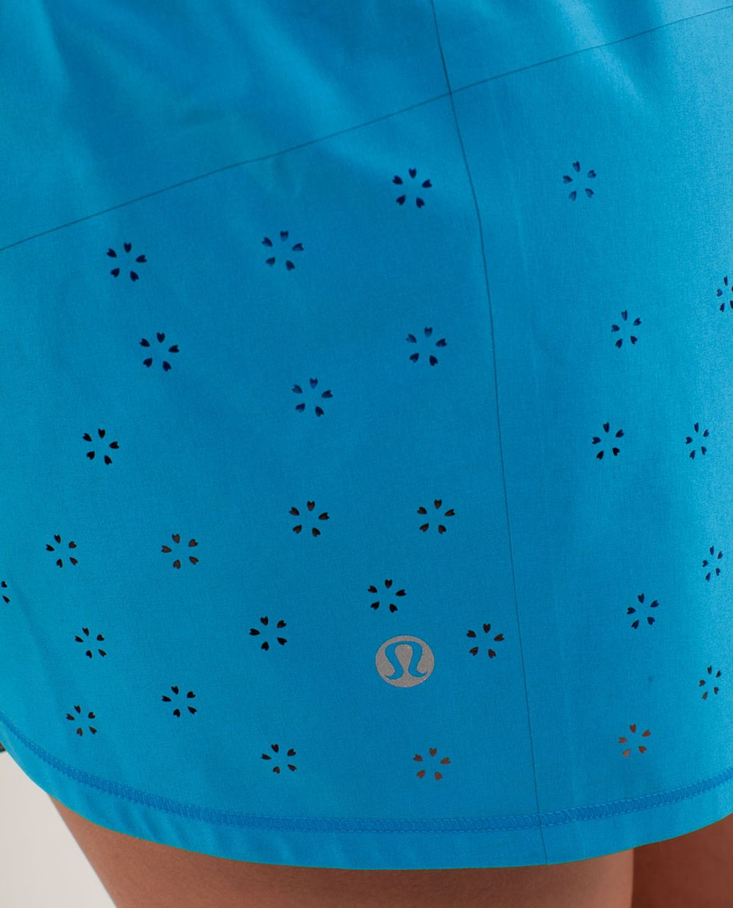 Lululemon Run:  Breeze By Short *Laser Cut - Beach Blanket Blue