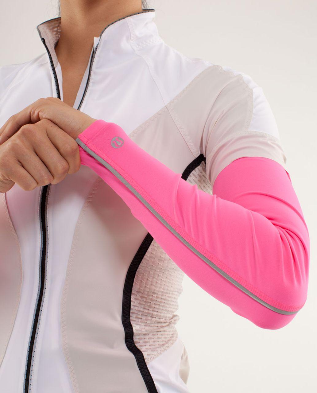 Lululemon Women's Cycling Armwarmers - Pinkelicious