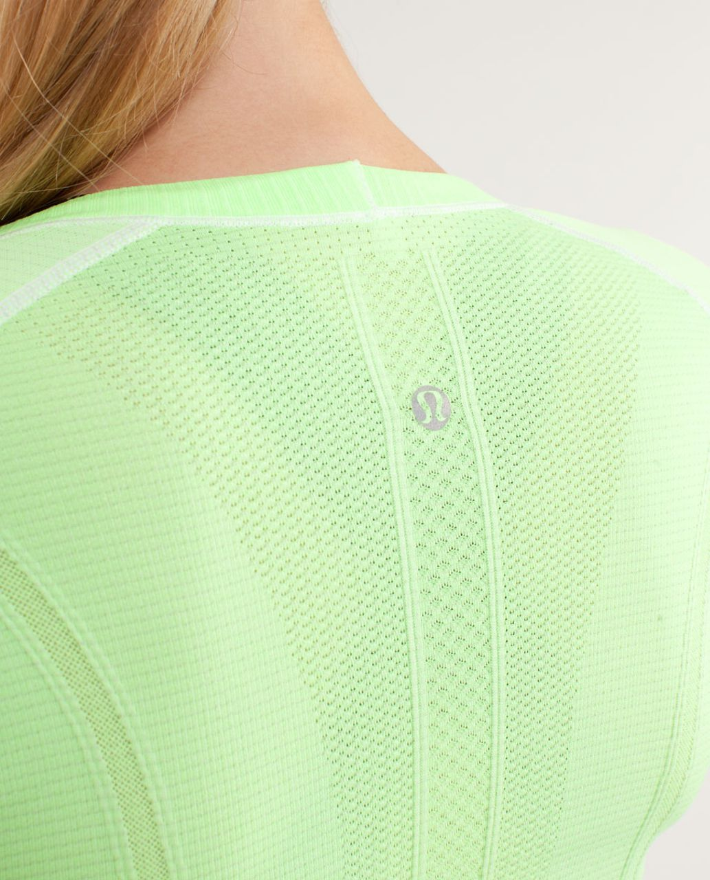 Lululemon Run:  Swiftly Tech Long Sleeve Scoop - Zippy Green