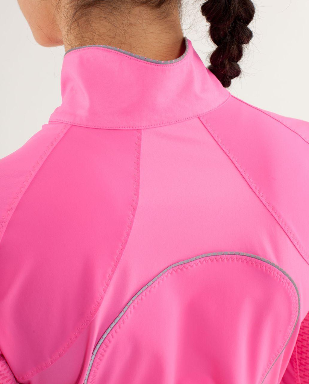 Lululemon Paceline Jacket - Pinkelicious