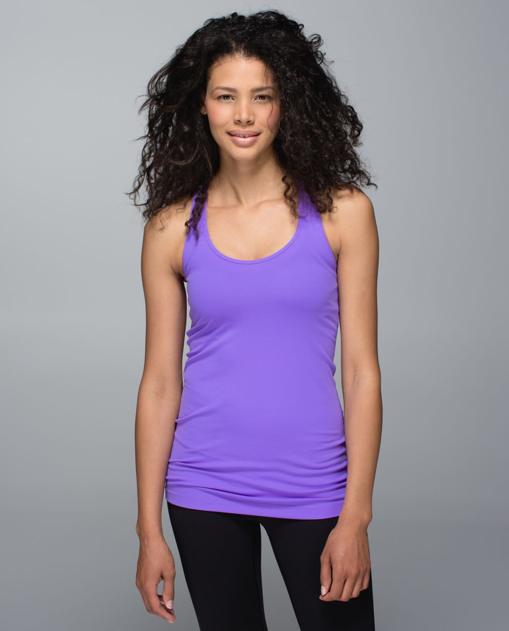 Lululemon Cool Racerback - Power Purple