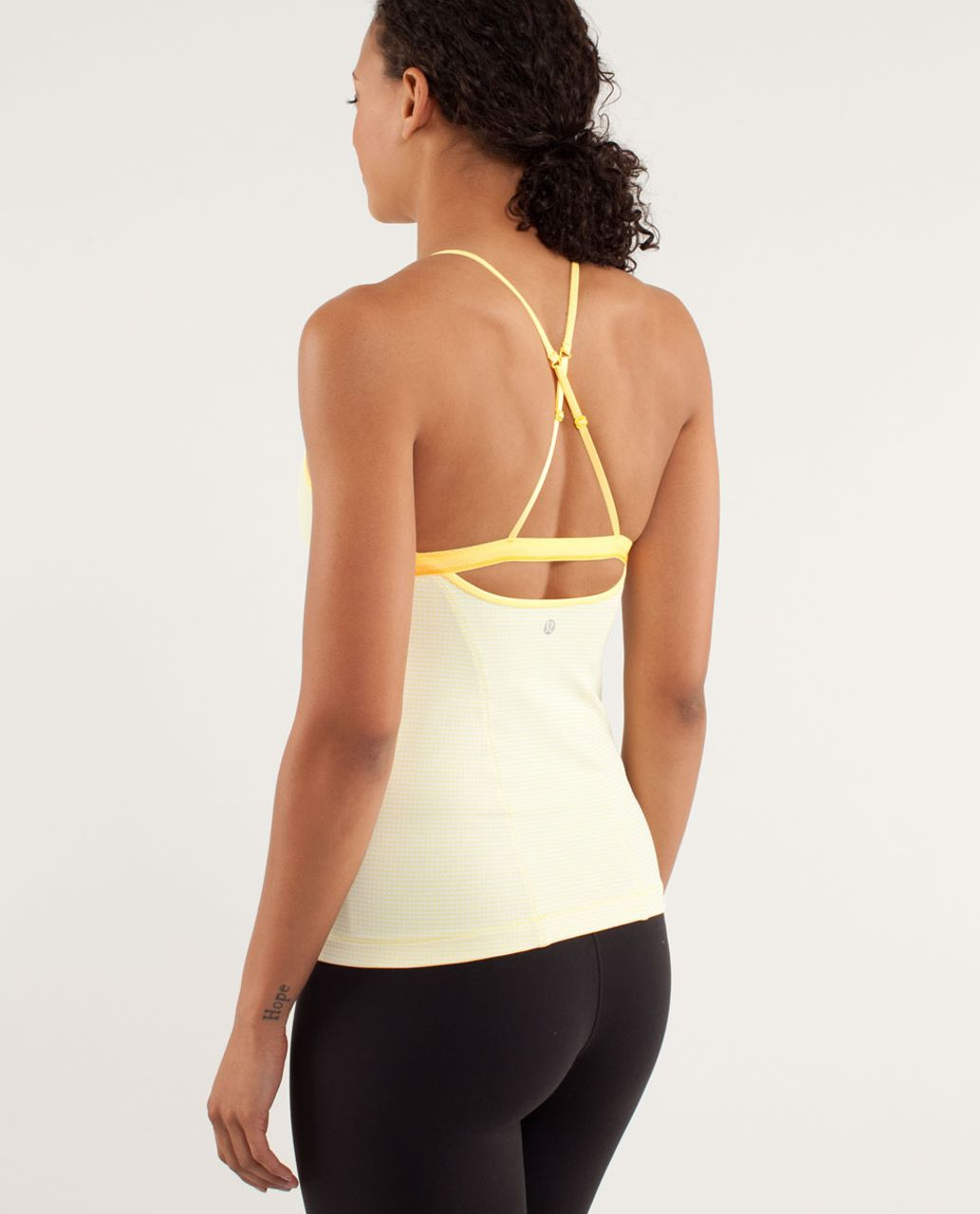 Lululemon Love-Ly Tank - Mellow Lemon / Burning Yellow