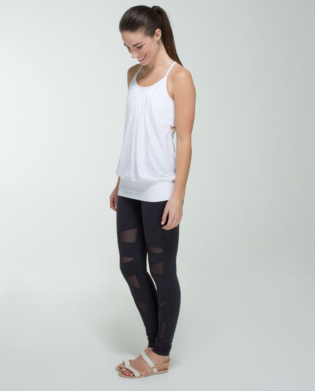 Lululemon No Limits Tank - White
