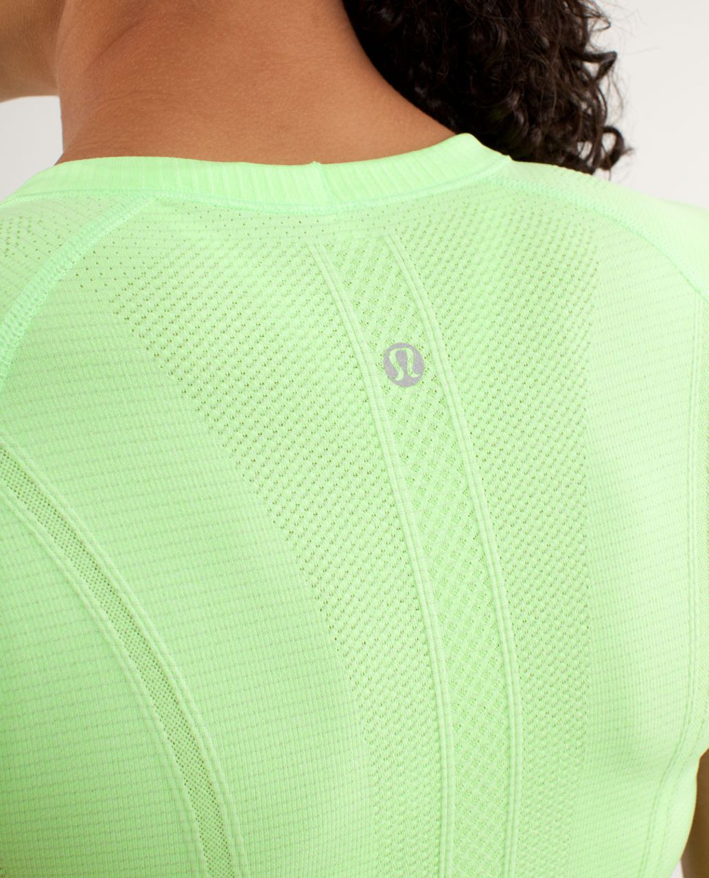 Lululemon Run:  Swiftly Tech Short Sleeve - Zippy Green