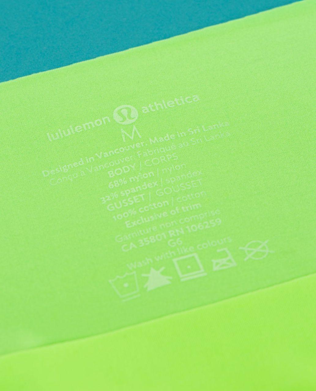 Lululemon Light As Air Hipster - Zippy Green