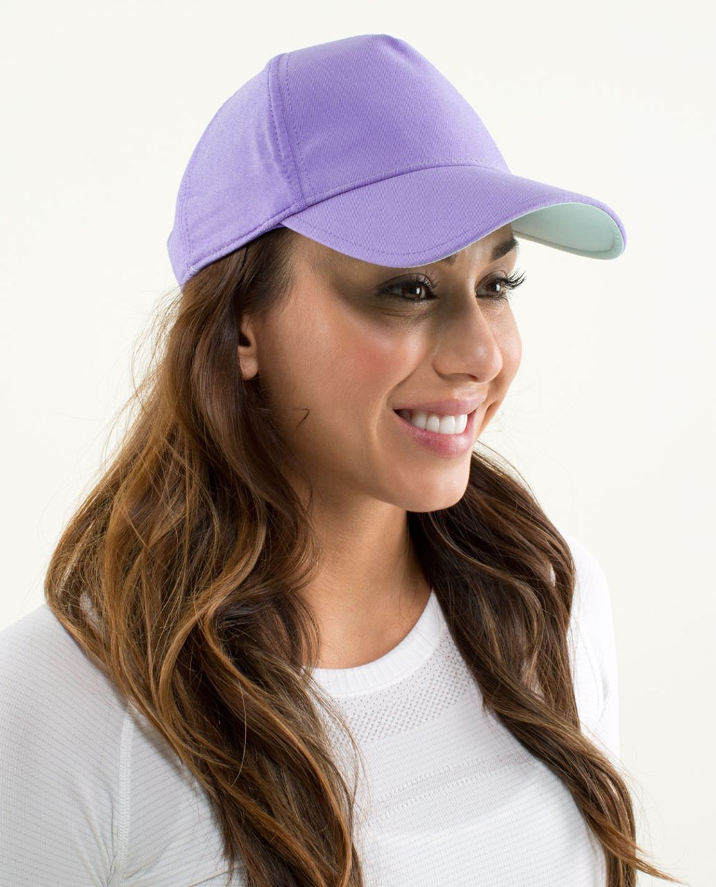 Lululemon Classy Cap - Power Purple / Aquamarine