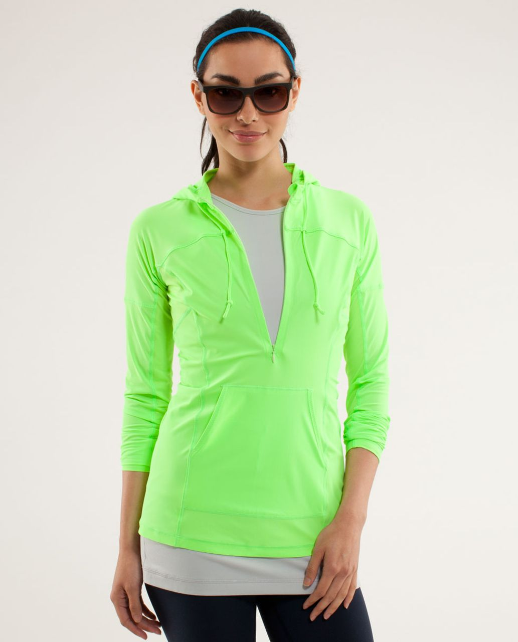 Lululemon Runbeam Hoodie - Zippy Green