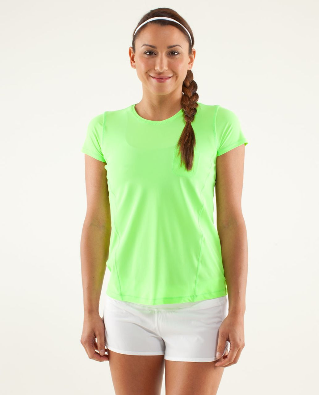 Lululemon Runbeam Short Sleeve - Zippy Green