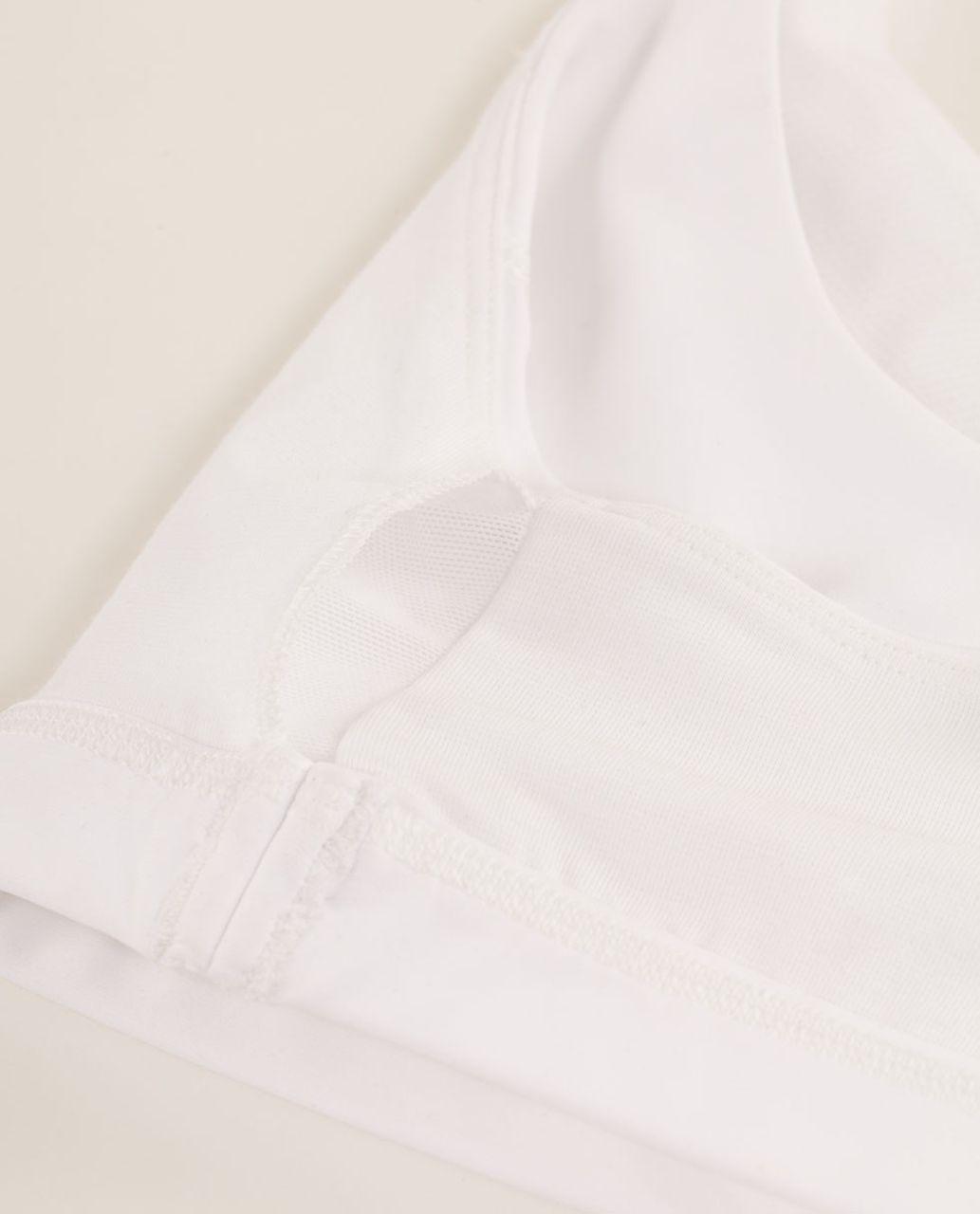 Lululemon Run:  Stuff Your Bra II - White /  Nimbus