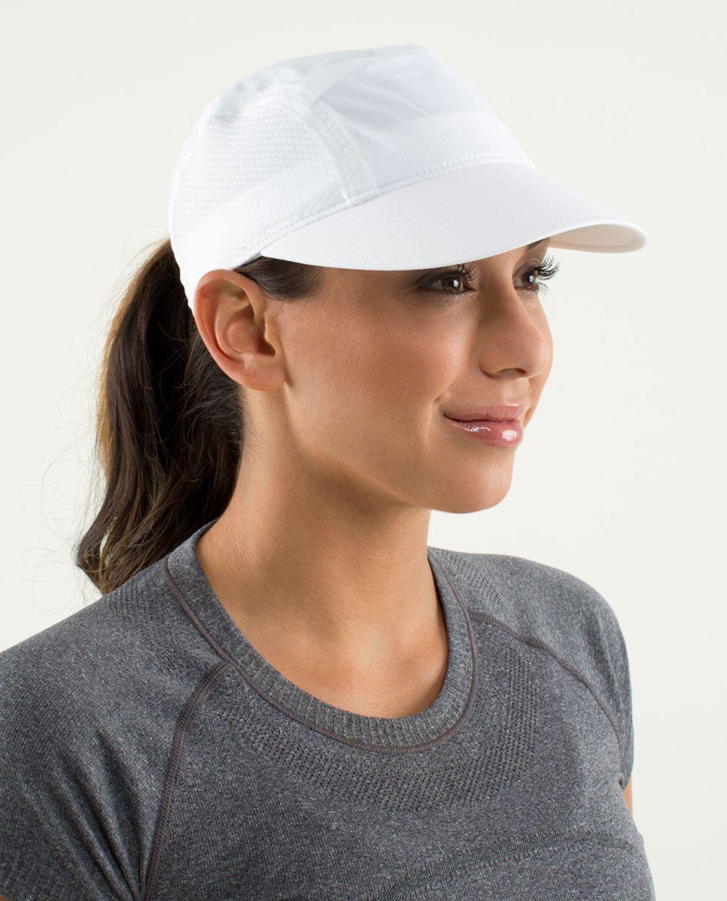 Lululemon Sun Chaser Run Hat - White (First Release)