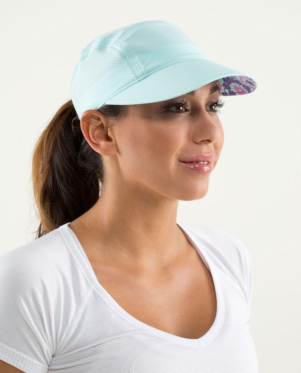 Lululemon Sun Chaser Run Hat - Aquamarine