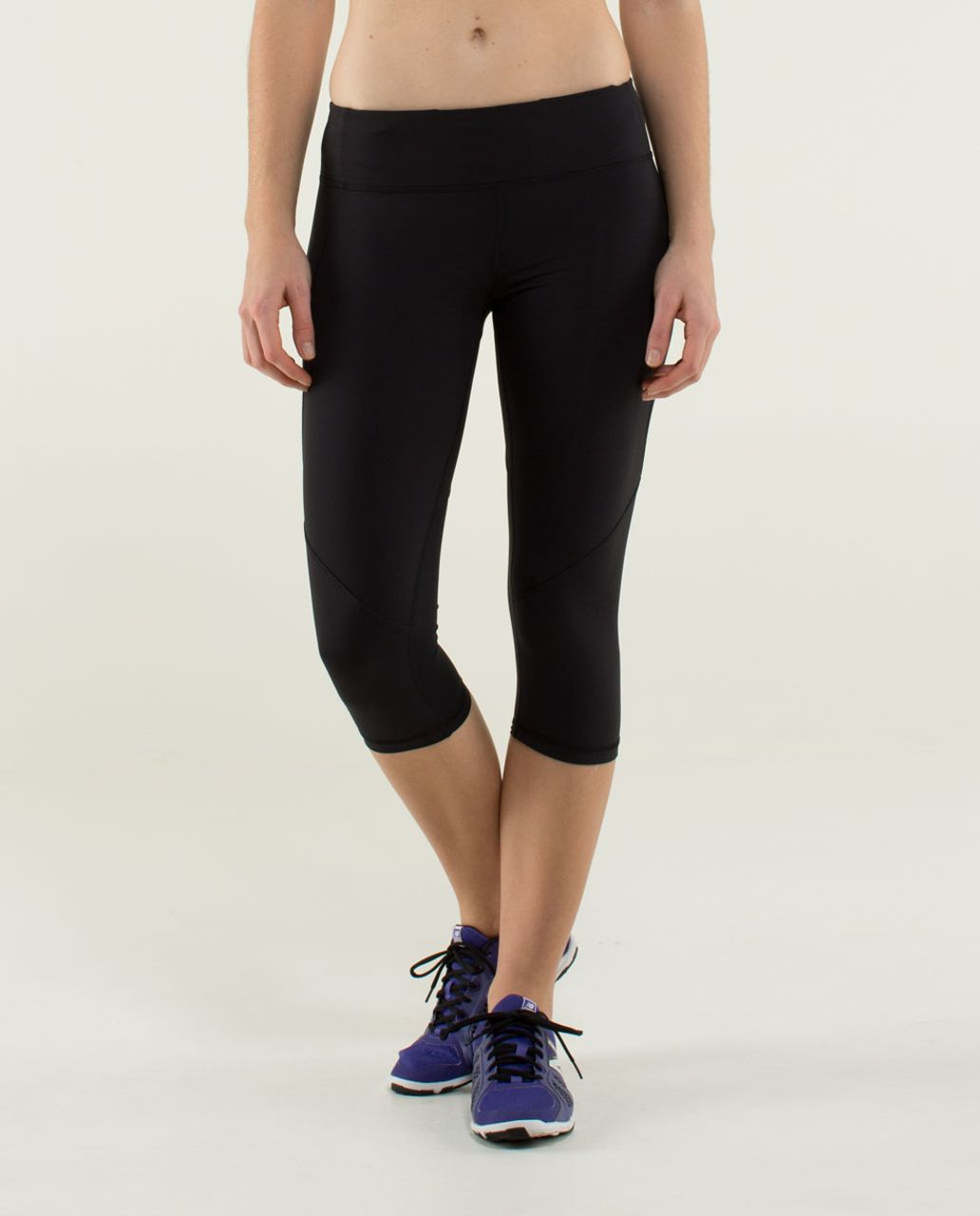 Lululemon Run:  Mod Moves Crop - Black