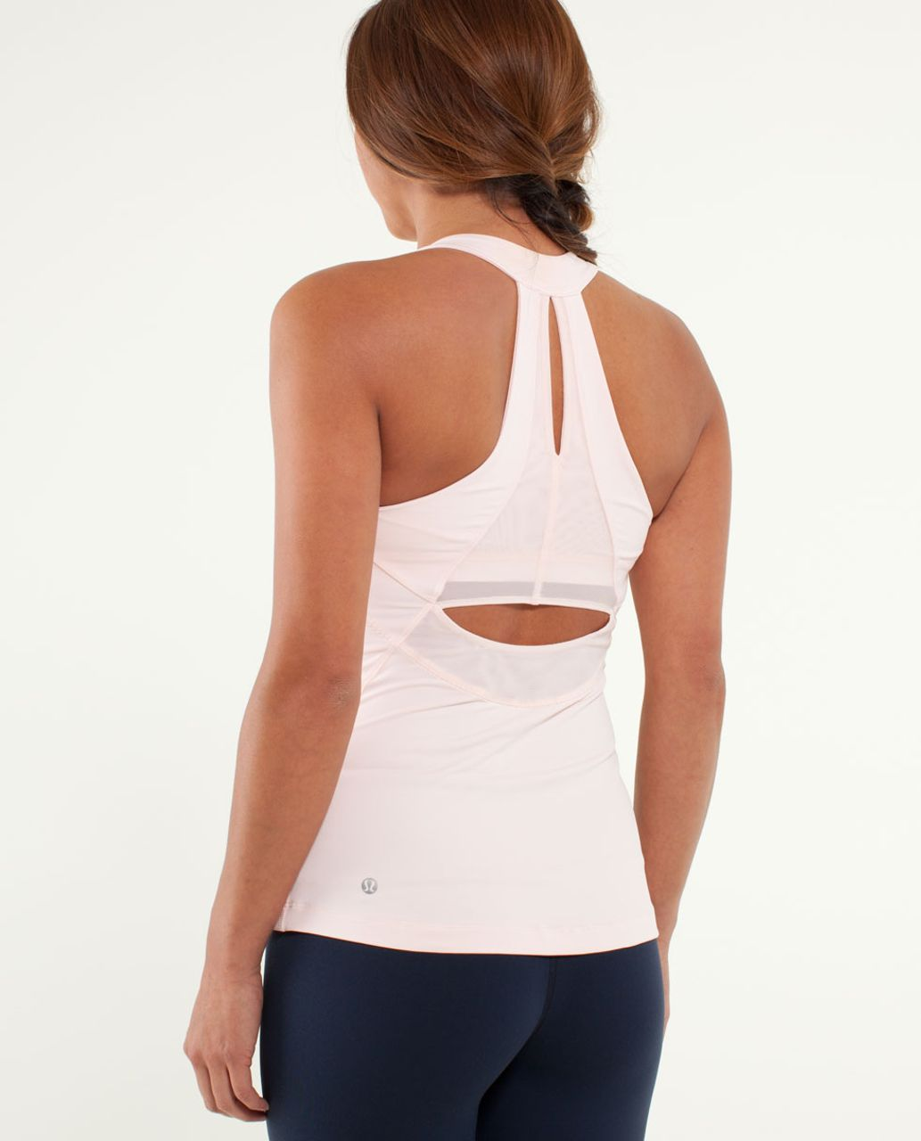 Lululemon Run:  Make It Count Tank - Parfait Pink