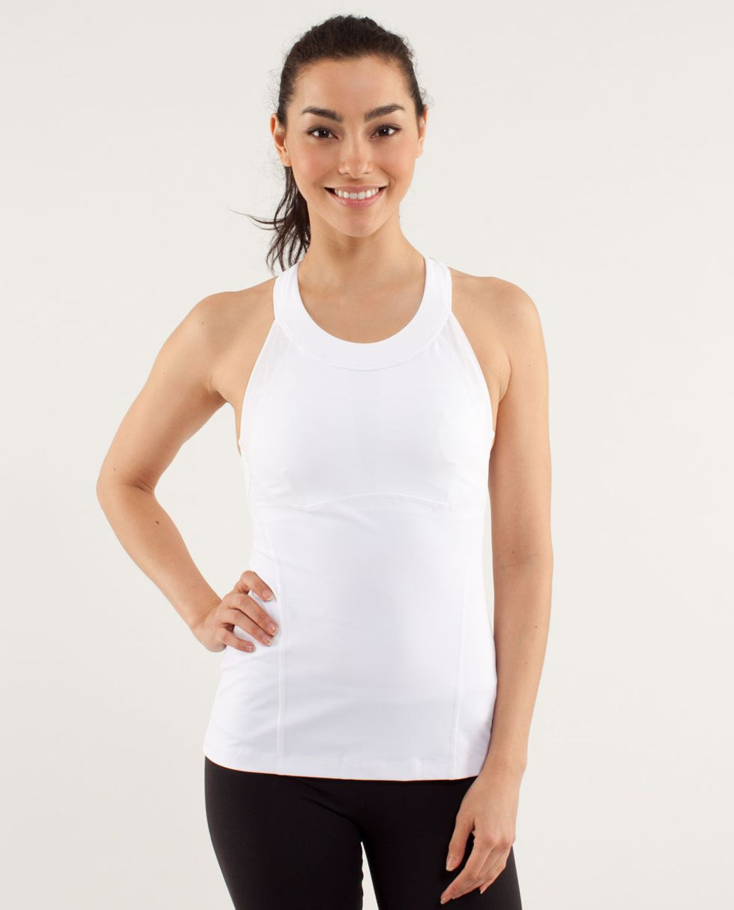 822a52fcac3a6 Lululemon Run  Make It Count Tank - White - lulu fanatics