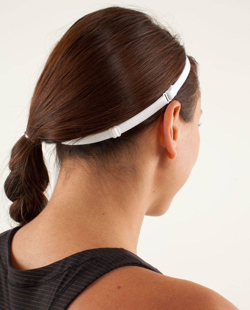 Lululemon Strappy Headband - White