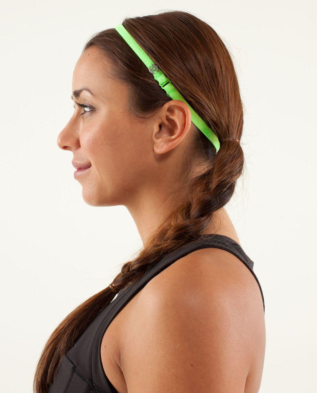 Lululemon Strappy Headband - Zippy Green